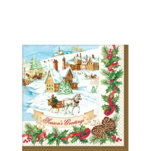 Holiday Magic Beverage Napkins 36ct
