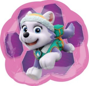 Pink PAW Patrol Balloon - Skye & Everest