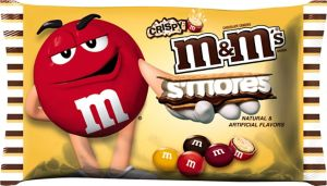 Milk Chocolate Crispy S'mores M&M's