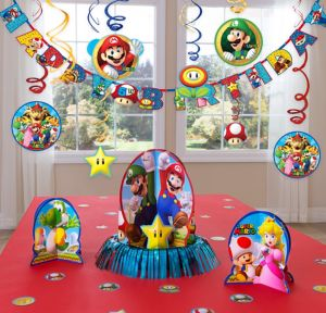 Super Mario Decoration Kit