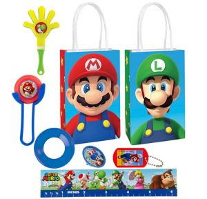Super Mario Basic Favor Kit for 8 Guests