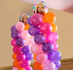 Barbie Balloon Tower Kit - Makes 2