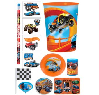 Hot Wheels Super Favor Kit for 8 Guests