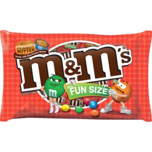 Milk Chocolate Peanut Butter M&M's Fun Size Pouches 16ct