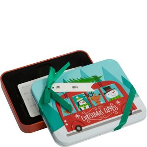 Christmas Express Gift Card Holder Tin