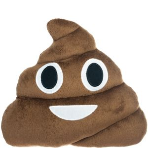 Poop Icon Pillow Plush