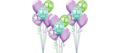 Woodland Baby Shower Balloon Kit 30ct