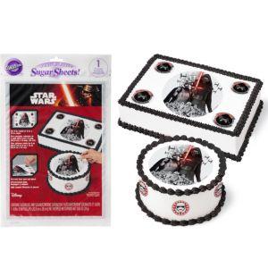 Star Wars 7 The Force Awakens Sugar Sheet