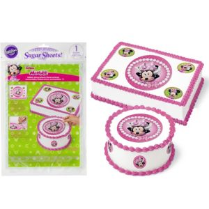 Wilton Minnie Mouse Sugar Sheet