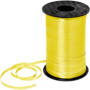 Yellow Curling Ribbon