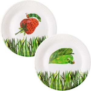The Very Hungry Caterpillar Lunch Plates 12ct