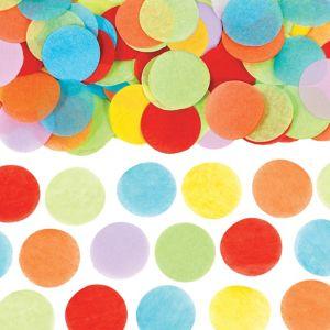 Rainbow Dots Tissue Paper Confetti