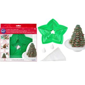 Christmas Tree Cookie Cutter Kit 15pc