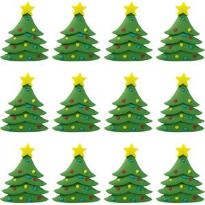 Christmas Tree Icing Decorations 12ct