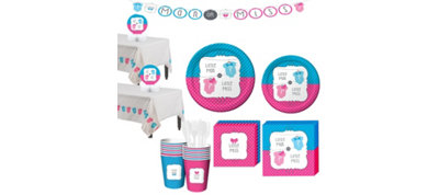 Gender Reveal Party Kit 16 guests