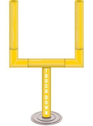 Goal Post Football Centerpiece