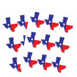 Texas Stickers 2 Sheets