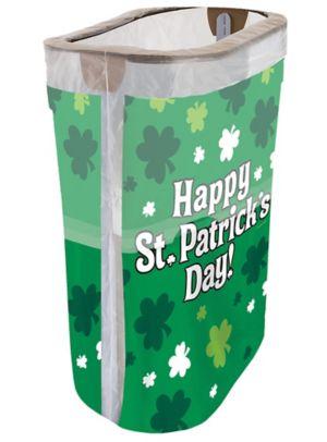 St. Patrick's Day Pop-Up Trash Bin
