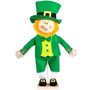 Friendly Standing Leprechaun Decoration