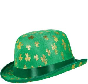 Gold Shamrock Derby Hat