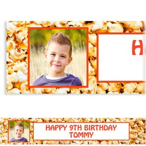 Custom Movie Ticket Photo Banner