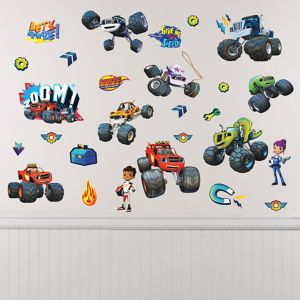 Blaze and the Monster Machines Wall Decals 28ct
