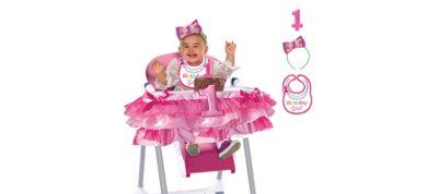 Rainbow 1st Birthday Girl Smash Cake Kit