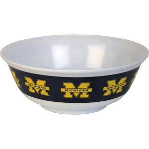 Michigan Wolverines Serving Bowl