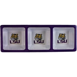 Louisiana State Tigers Divided Snack Tray