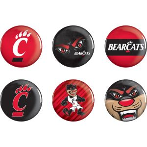 Cincinnati Bearcats Buttons 6ct