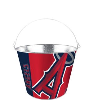 Los Angeles Angels Galvanized Bucket