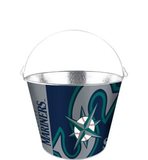 Seattle Mariners Galvanized Bucket