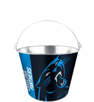 Carolina Panthers Galvanized Bucket