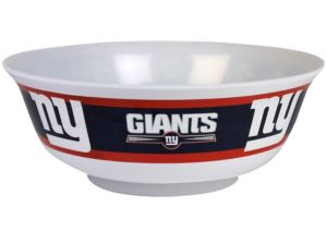 New York Giants Serving Bowl
