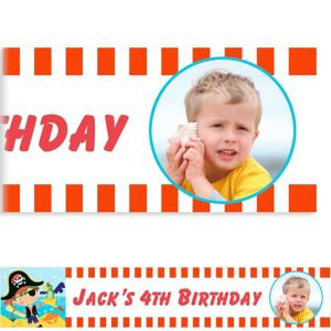 Custom Little Pirate Photo Banner