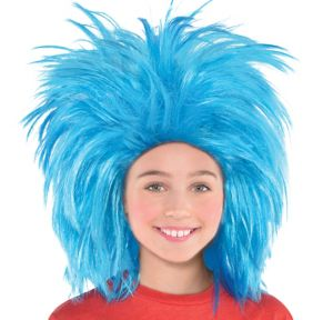 Thing 1 & Thing 2 Wig - Dr. Seuss