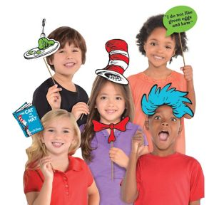 Dr. Seuss Photo Booth Props 13ct