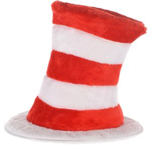 Plush Cat in the Hat Top Hat - Dr. Seuss