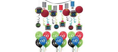 Celebrate 60th Birthday Balloon Kit