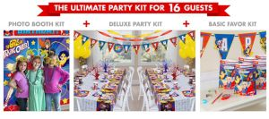DC Superhero Girls Ultimate Party Kit for 16 Guests