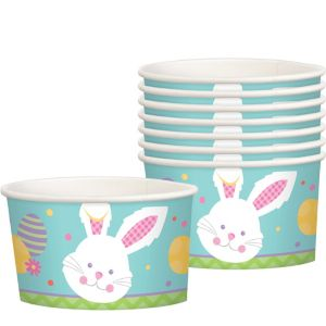 Hippity Hop Easter Bunny Treat Cups 8ct
