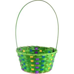 Small Green Easter Basket