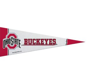 Small Ohio State Buckeyes Pennant Flag