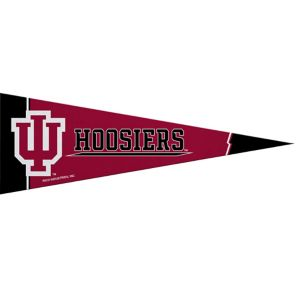 Small Indiana Hoosiers Pennant Flag