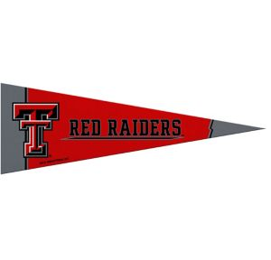 Small Texas Tech Red Raiders Pennant Flag