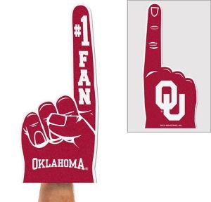 Oklahoma Sooners Foam Finger