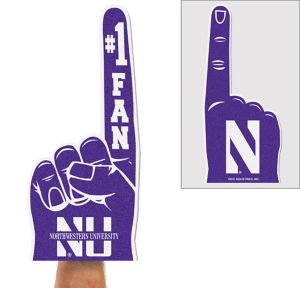Northwestern Wildcats Foam Finger