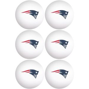 New England Patriots Pong Balls 6ct