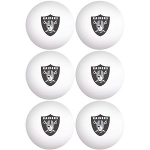 Oakland Raiders Pong Balls 6ct