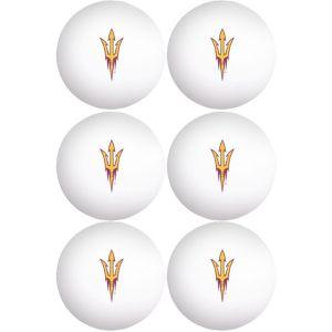 Arizona State Sun Devils Pong Balls 6ct